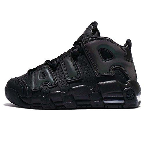 e1bb165fc3941 Galleon - NIKE Air More Uptempo SE (GS) Big Kid s Shoes Black Black-Wolf  Grey 922845-001 (3.5 M US)