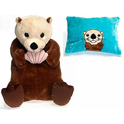 "Fiesta Toys Peek-a-Boo Plush 18"" Sea Otter: Toys & Games"