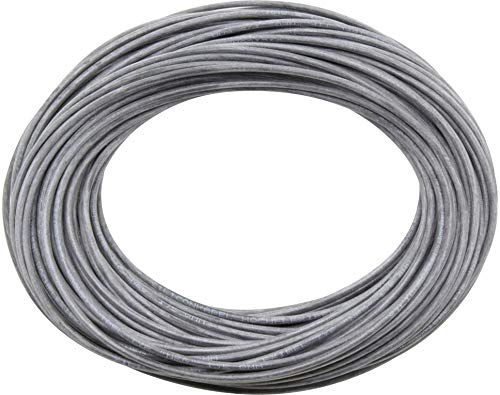 Donau Elektronik 25601 Silicone Wire 10 m Dia. 6,0 Black, MultiColour