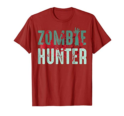 Zombie Hunter Halloween Shirt Cute Deadly Deer Hunting Gift