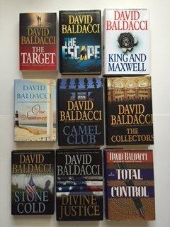 Download David Baldacci (Set of 9) Target; Escape; King & Maxwell; One Summer; Camel Club... pdf epub