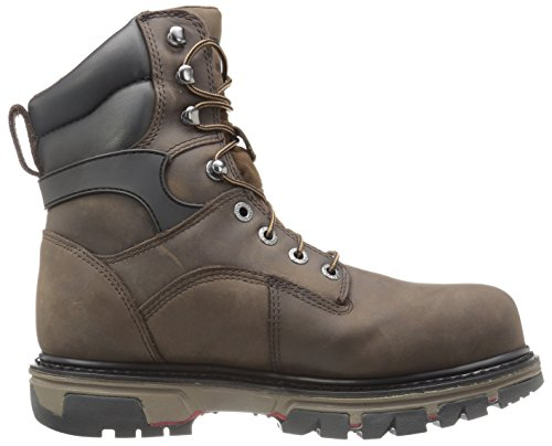 Work Toe Waterproof Insulated Shoe Dark Brown Nation inch Wolverine Comp 8 Men's XWqAwnH08