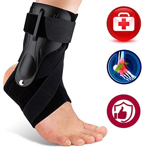Ankle Support, Ankle Brace for Men & Women, Ankle Support Brace for Ankle Sprains, Sprained Ankle, Ankle Braces, Volleyball, Basketball, Ankle Supports for Women -L