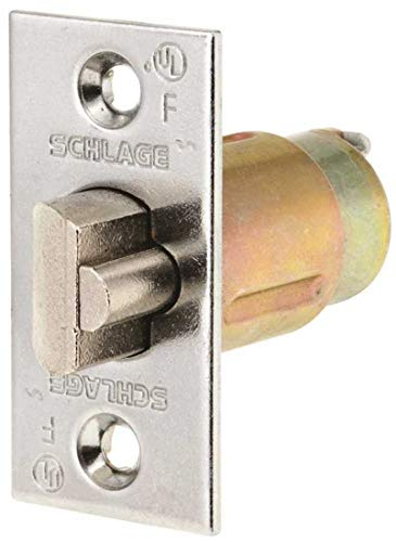 (Schlage Lock Company 14047626 D Series 238 Dead Latch, Satin Chrome)