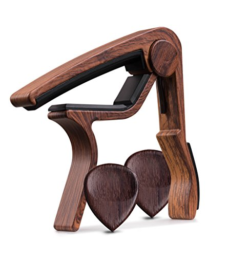 TimbreGear Rosewood Color Guitar Capo REAL