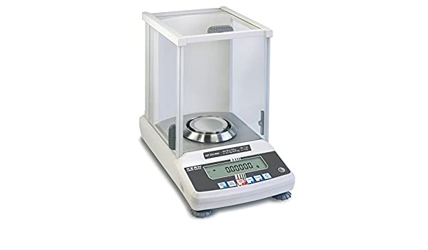 Balanza analítica con declaración de aprobación [Kern ABT 220-4NM] El modelo superior con sistema de pesaje Single-Cell, Campo de pesaje [Max]: 220 g, ...