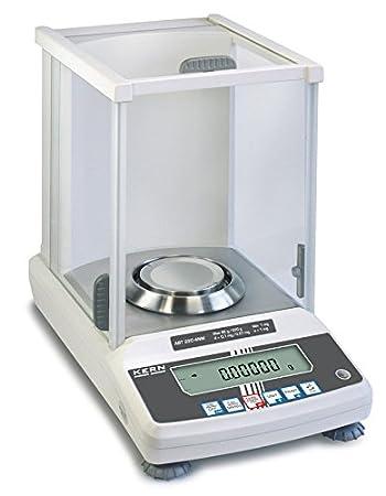 Balance d'analyse avec déclaration d'approbation [Kern ABT 220-4NM] Le modèle premium avec système de pesage Single-Cell, Portée [Max]: 220 g, Lecture [d]: 0,1 mg Portée [Max]: 220 g