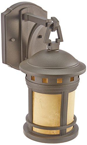 Designers Fountain 2370-AM-ORB Wall Lantern, Oil Rubbed Bronze