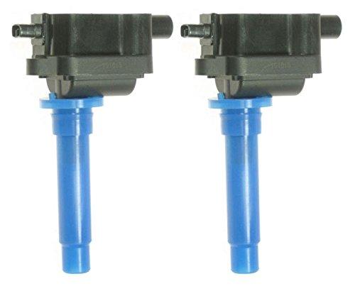 Ignition Coil Pair Set of 2 Kit for Kia Spectra Sephia (Kia Spectra Coil)