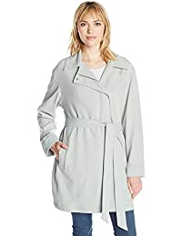 Women's Asymmetrical Fashion Drape Trench