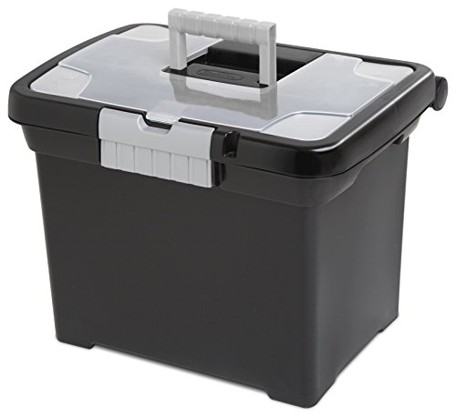 - STERILITE Portable File Box