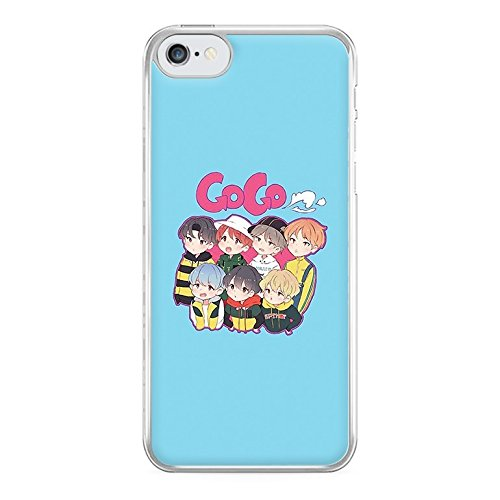Fun Cases - Go Go BTS Cartoon Phone Case - Galaxy S7 Compatible