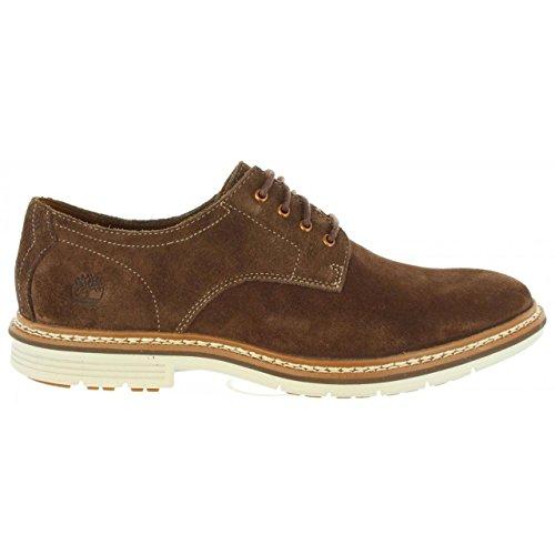 Timberland Herren Naples Trail Oxford Potting Soil Schuhe mit Schnürung Braun