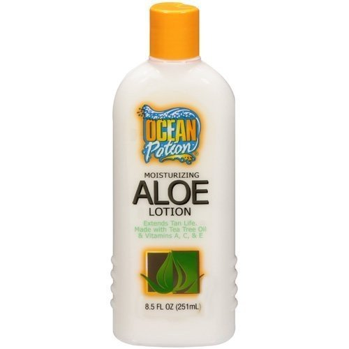 After Sun Moisturizing Vitamins - Ocean potion Moisturizing aloe lotion 8.5oz by Ocean Potion