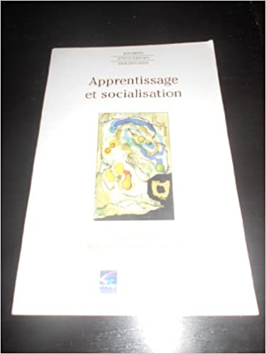 Apprentissage et socialisation pdf