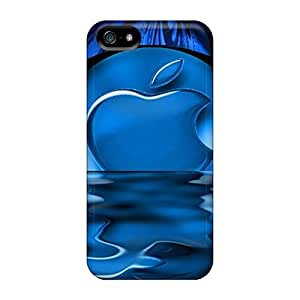 High Quality Shock Absorbing For Ipod Touch 4 Phone Case Cover -tropical Blue
