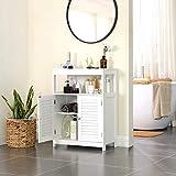 VASAGLE Bathroom Storage Floor Cabinet Free