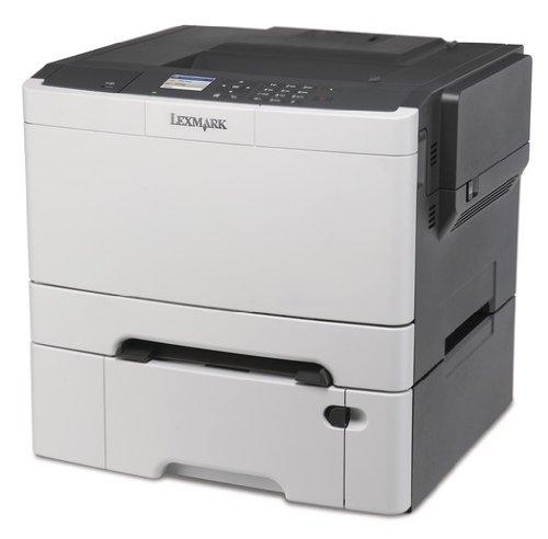 Lexmark CS410DTN Farblaserdrucker 1200 DPI, USB 2.0 Graphit//wei/ß