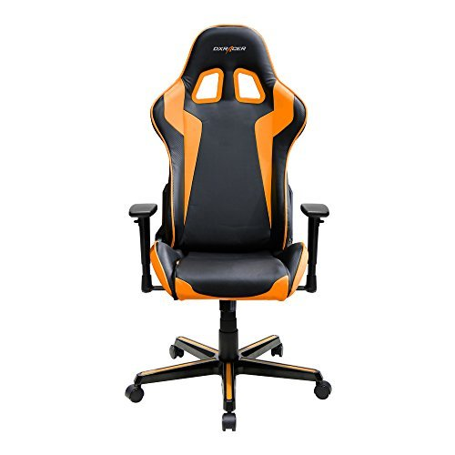 41elfor3dEL - DXRacer-Formula-Series-DOHFH00-Newedge-Edition-Racing-Bucket-Seat-Office-Chair-Gaming-Chair-Ergonomic-Computer-Chair-eSports-Desk-Chair-Executive-Chair-Furniture-with-Free-Cushions