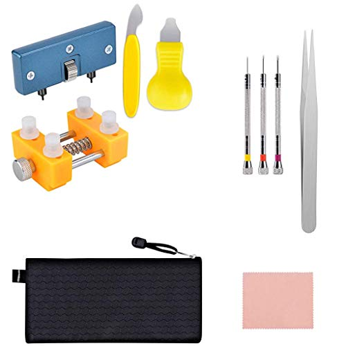 Watch Repair Tools,Multi-function Watch Battery Replacement Tool Kit and Watch Back Remover Opener Tool Kit