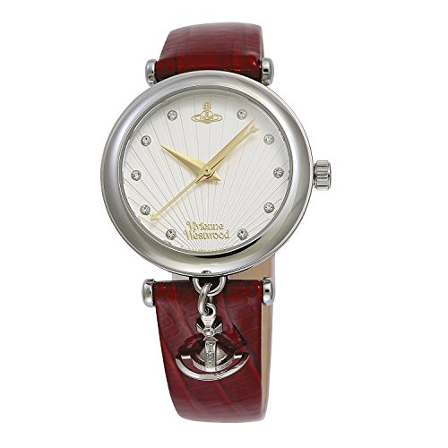 Vivienne Westwood watch TRAFALGAR White Dial Red Leather Quartz VV108WHRD Ladies