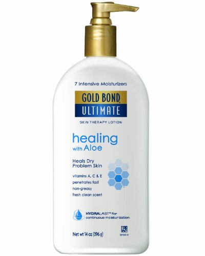 Gold Bond ultime guérison Skin Therapy Lotion, Aloe, 14 Pompe once