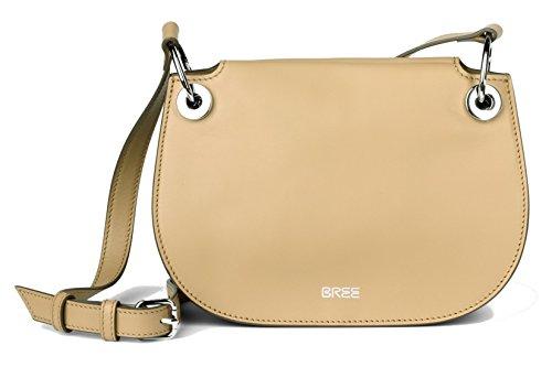 BREE, Borsa a spalla donna Beige marrone chiaro 25 cm x 19 cm x 9 cm (B x H x T)