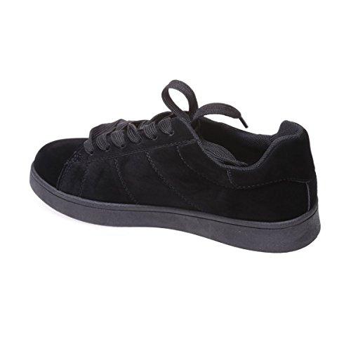 La Modeuse - Zapatillas de deporte para mujer negro