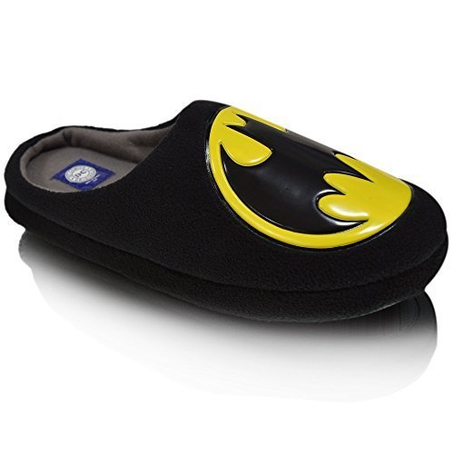 Batman Hombres Zapatillas - 8/9, color Negro, talla 45 EU: Amazon.es: Zapatos y complementos