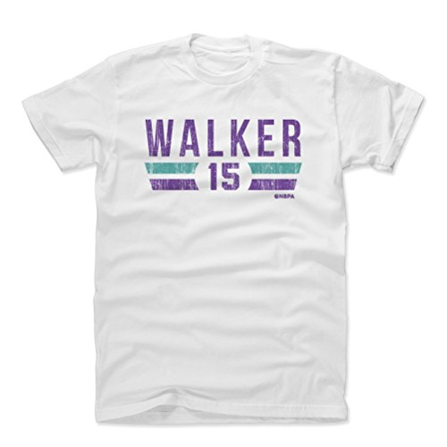 - 500 LEVEL Kemba Walker Cotton Shirt Medium White - Vintage Charlotte Basketball Men's Apparel - Kemba Walker Charlotte Font P