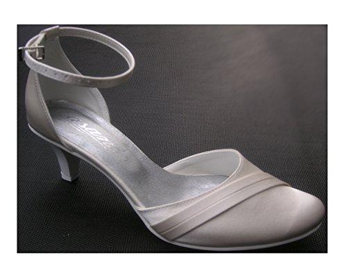 Pumps cuir mariage chaussures Chaussures de parement Weiß mariage mariée YES Intérieur chaussures x8Fn1q8Yw