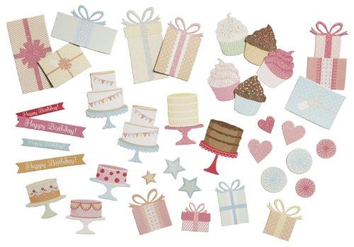 Martha Stewart Chipboard Die-Cuts, Presents and Icons