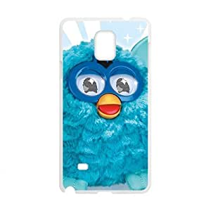 Blue lovely animal Cell Phone Case for Samsung Galaxy Note4