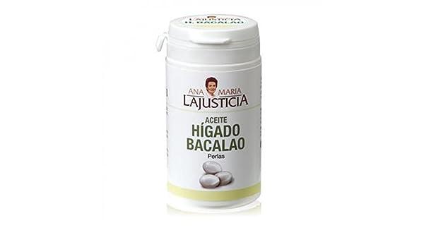Aceite de Hígado de Bacalao - 60 perlas: Amazon.es: Salud y cuidado personal