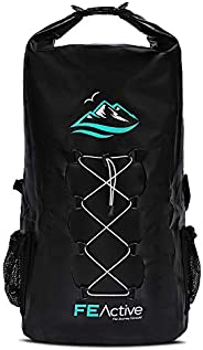 FE Active Dry Bag Waterproof Backpack - 30L Eco Friendly Bag for Men & Women for Fishing, Travel, Hiking,