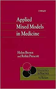 applied mixed models in medicine pdf