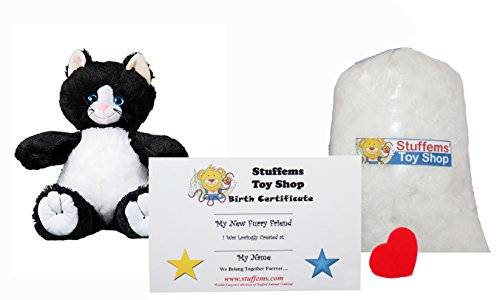 Make Your Own Stuffed Animal Mini 8 Inch Whiskers the Black