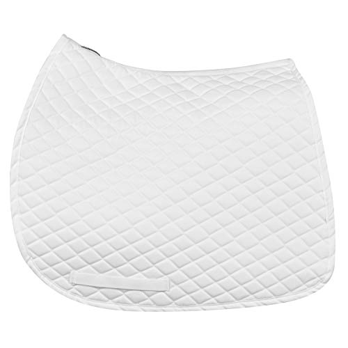 TuffRider Basic Dressage Saddle Pad White for sale  Delivered anywhere in USA