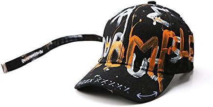 Gorra de Beisbol Gorra de béisbol Pintada a Mano Gorra de Graffiti ...