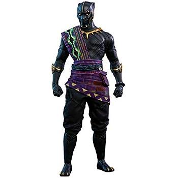 Amazon.com: Hot Toys Movie Masterpiece Series Black Panther ...