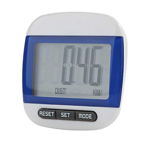 Price comparison product image TYewa98556 2019 Newest Teconology Pedometer,  Mini Waterproof Step Movement Calories Counter Multi-Function Digital Pedometer - Blue
