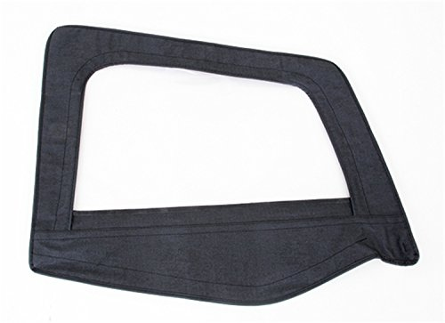 Smittybilt 89515 Denim Spice Passenger Side OEM Replacement Soft Top Door Skin with Frame