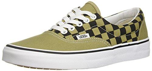 Vans Men's Era (2 Tone Checker) Skateboarding Shoes (9 D(M) US, Boa/Black)