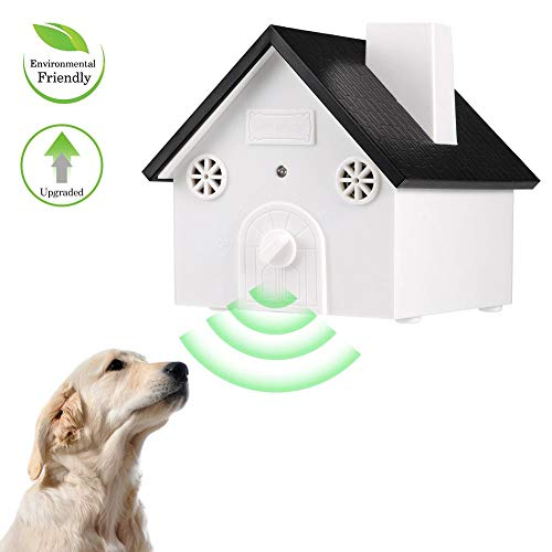 (Anti Barking Device Sonic No Bark Deterrents Shock Collar Pet Training Dog Collar Outdoor Bark Control Ultrasonic Dog Repeller)