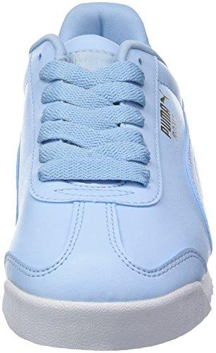 Basic puma Uomo Puma Ginnastica Roma Scarpe da Cerulean 83 White Basse Blu zHHg5qZ