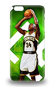 High Quality NBA Boston Celtics Ray Allen #20 Skin Case Cover Specially Designed For Iphone 6 Plus 3D PC Soft Case