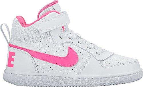 Nike Nike Court Borough Mid (Psv) - white/pink blast Mehrfarbig