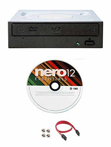 Pioneer BDR-209DBK 16X Blu-Ray CD DVD Bluray Internal Burner Drive + Nero...