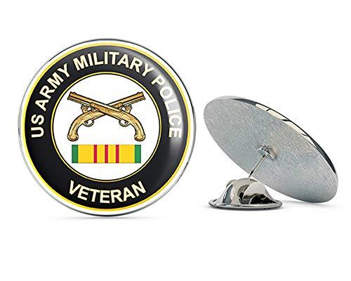 (US Army Military Police Vietnam Veteran Metal 0.75