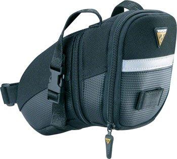 - Topeak  TC2261B Aero Wedge Pack with Strap Mount, Medium
